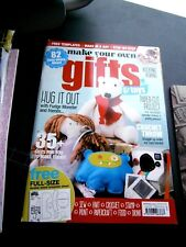 Make Your Own Gifts & Toys Magazine Issue 1 2014 (new) With Free Templates