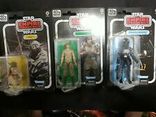 Star Wars Black Series ESB 40th Anniversary Lot Luke + Yoda + Tie Fighter Pilot