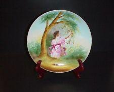 Victoria Schmidt Austria Porcelain Cherries Cabinet Plate Signed