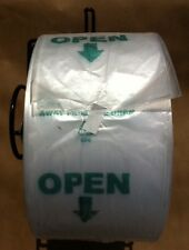 Produce Roll Bags 15 x 20 HDPE Printed Gov Warning Supermarket 12 Rolls
