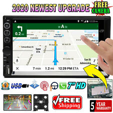 For Toyota Tacoma Sienna Tundra 2 Din Car Stereo Radio BT Touch Screen & Camera