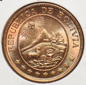 Bolivia 1942 50 Centavos 295541 combine shipping