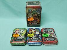 Lego® Ninjago™ Serie 5 Trading Card Game alle 4 Tin Boxen 5 x Limited Edition