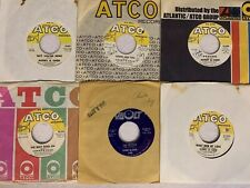 Lot of (6) 45 RPM Records by Sonny And Cher