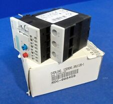 SIEMENS 3RU1126 1DD0 OVERLOAD RELAY 600 VAC 0.6 AMPERE, 220 VDC 0.1 AMPERE, NIB