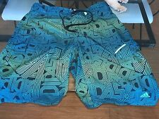 "MEN'S AWESOME BOARD SHORTS - SWIMWEAR-BATHING SUIT - SIZE 36"" BY ""ADIDAS"""