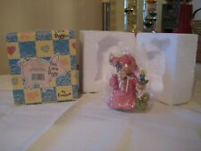 "Vintage Nib 1995 Enesco Tlp This Little Piggy ""Boar Humbug"" Pig with Candle"