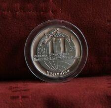 King Bhumibol Adulyadej 1995 Rama IX Thailand 20 Baht Proof Coin Info Technology