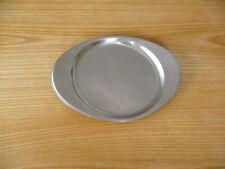 Tischfein Servierplatte Untersetzer Teller Cromagan oval 21x17cm sehr guter Zust