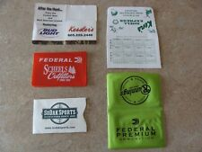 Hunting or Fishing License Holder Multiple Different Plastic and Paper