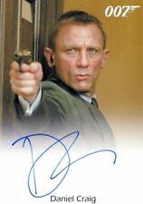 James Bond Archives 2014 Edition Daniel Craig Autograph Card