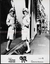 POLANSKI - CATHERINE DENEUVE - REPULSION 1965 * RARE GERMAN LOBBY CARD