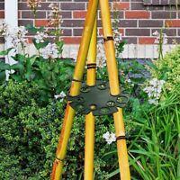 4x Casquettes De Support De Support De Canne En Bambou Pour Plantes Grimpantes