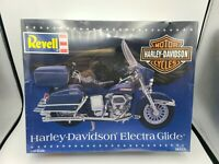 1996 REVELL 1/12 Scale Motorcycle Model Kit Harley Davidson Electra Glide SEALED