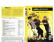 Les Mills Body Jam 58 Complete DVD, CD, Case and Notes