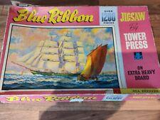 Vintage Tower Press Blue Ribbon No 11 Sea Breezes 1200 Piece Jigsaw