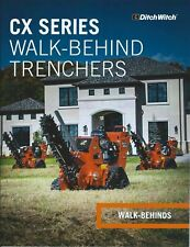 Equipment Brochure - Ditch Witch - C16X et al Walk-Behind Trencher 2016 (E5978)