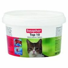Beaphar Top 10 Multi vitamin Tablets for Cats 117g   *SAMEDAY DISPATCH*