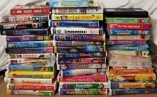 Lot of 43 Good Disney Universal WB MGA VHS Tapes Videos Family Children's Movies