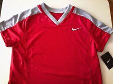 Nike Women's Softball Baseball Jersey Top M Red