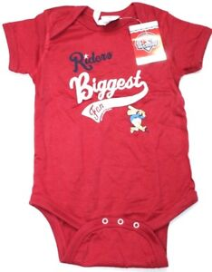 MiLB Frisco Roughriders Infant Creeper Soft As A Grape Red 18 Months New NWT