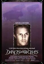 DANCES WITH WOLVES * CineMasterpieces ORIGINAL DS MOVIE POSTER 1990