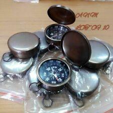 Lot Of 10 Pcs Antique Brass Lid Compass 45 mm Marine Collectible Handmade Decor