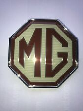 MGTF FRONT OR REAR OCTAGON BADGE DAB000160 FOR GRILLE OR BOOT LID FITS UK MG TF