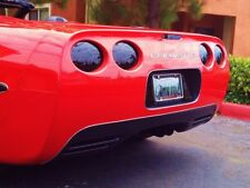 C5 Corvette 7 Piece Premium Molded Blackouts Rear Blackout Kit