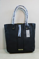 "Kenneth Cole Reaction "" Norway "" Large Black PVC Tote Bag New Original Tags"
