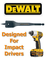 "DEWALT Extreme 28mm 1/4"" Hex Impact Driver Rated Flat Wood Drill Bit, DT4773QZ"