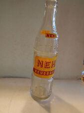 Vintage NEHI BOTTLE - RARE BOTTLE - SALISBURY, NC