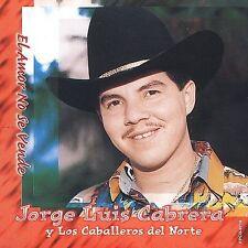 Cabrera, Jorge Luis : Amor No Se Vende CD