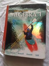 Algebra 1 by Laurie Boswell, Timothy D. Kanold, Ron Larson and Lee Stiff (2006,