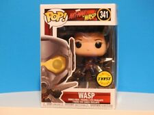 """Funko Pop  #341 ANT-MAN AND THE WASP """"WASP"""" CHASE +P/Prot INHAND NEW MIB"""