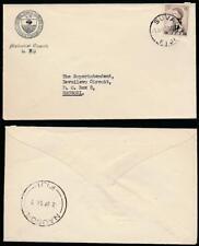 FIJI 1958 PRINTED RATE METHODIST CHURCH of AUSTRALASIA ENVELOPE to NAUSORI