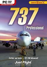 737 Professional (PC DVD) BRAND NEW SEALED ADD ON MS X