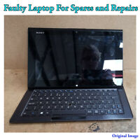 Sony SVD112A1SM 11.6-inch Intel i7 3rd-Gen 1.9Ghz 8GB RAM For Spares and Repairs