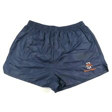 Vintage 70s Detroit Tigers MLB Short Shorts Large Logo 7 Blue Logo Made in USA