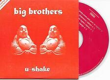 BIG BROTHERS - U-shake CD SINGLE 4TR DUTCH CARDSLEEVE 2004 Hardstyle