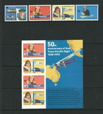 Australia 1978, Early Australian Aviators sg658/61 & MS662 MNH