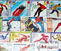 Motive 100 verschiedene Olympia Marken