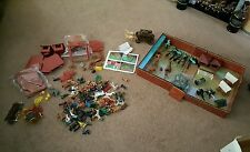 2 Sets of Vintage Marx Fort Apache Play Sets with Lots of Extras!!!!