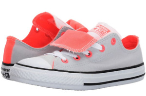 Converse Kids Little Girls Chuck Taylor All Star Double Tongue Ox NEW Size 11
