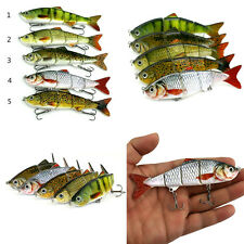 Minnow Fishing Lures Crank Bait Hooks Bass Crankbaits Tackle Sinking Popper