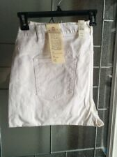 NWT TALBOTS Womans signature plus size 22W straight Leg white Jeans St Jude 😇💰