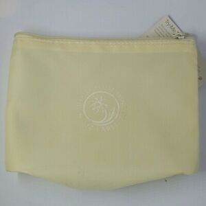 Liz Earle small yellow wash/makeup bag great gift 15x3x11.5cm high New