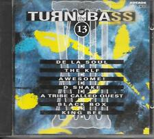 V/A - Turn up the Bass - VOLUME 13 CD 16TR Techno Euro House 1991 (ARCADE)