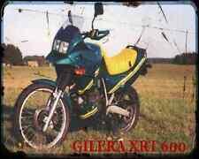 GILERA Xrt600 89 2 A4 Metal Sign moto antigua añejada De