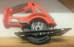 Black & Decker Fire Storm 14.4V  CS144 Cordless Circular Saw Bare Tool W/Blade